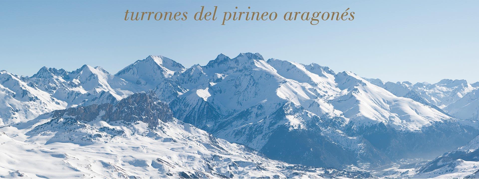 Turrones del pirineo aragonés